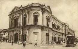 Malay Malaysia, PENANG, General Post Office, Tram Street Car 1910s Tuck Postcard - Malaysia