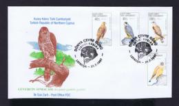 Accipiter Gentilis Gentilis CYPRUS Fdc Rapaces Eagles Aigles Birds Oiseaux Gc4226 - Aquile & Rapaci Diurni