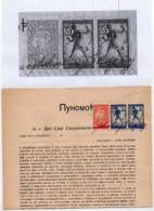 06.02.1919. KINGDOM OF SHS, CHAIN BREAKERS, VERIGARI, ZEMUN, 2 STAMPS WITH ERROR, POSTAL STAMPS AS REVENUE - 1919-1929 Kingdom Of Serbs, Croats And Slovenes