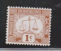 HONG KONG Scott # J1 MH - Postage Due - Hong Kong (...-1997)