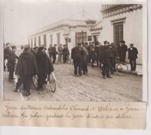 GREVE DES USINES AUTOMOBILES CHENARD ET WALCKER A GENNEVILLIERS ENTREE  18*13CM Maurice-Louis BRANGER PARÍS (1874-1950) - Coches