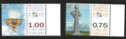 J) 2012 VATICAN CITY, 2012 INTERNATIONAL EUCHARIST CONGRESS, MNH - Vatican