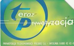 POLONIA. Teraz Prywatyzacja - Now Privatisation. 25U. 603. (203) - Polonia