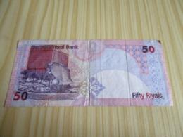 Qatar.Billet 50 Riyals. - Qatar