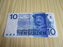 Pays-Bas.Billet 10 Gulden 25/04/1968; - [7] Collections