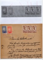 20.10.1919. KINGDOM OF SHS, CHAIN BREAKERS, VERIGARI, ZEMUN, 4 STAMPS WITH ERROR, POSTAL STAMPS AS REVENUE - 1919-1929 Kingdom Of Serbs, Croats And Slovenes