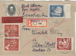 DDR 259,260,265,2x275 Auf Briefvorderseite - [6] République Démocratique