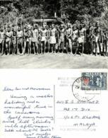 Malay Malaysia, PAHANG, Cameron Highlands, Armed Natives (1964) RPPC Postcard - Malaysia