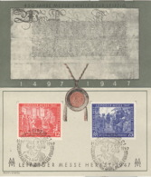 Alliierte Besetzung 965/66 Auf Sonderkarte Sonderstempel - American,British And Russian Zone