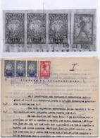 30.03.1920. KINGDOM OF SHS, CHAIN BREAKERS, VERIGARI, ZEMUN, ERROR ON 2 KR STAMP, POSTAL STAMPS AS REVENUE - 1919-1929 Kingdom Of Serbs, Croats And Slovenes
