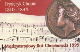 POLONIA. International Year Of Chopin 1999. 50U. 672. (205) - Musique