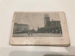 Aalst - Alost - La Gare - Station Statie  - Gelopen 1900 - Aalst
