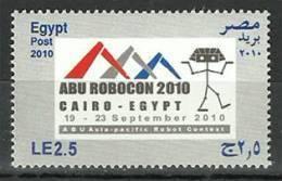 Egypt 2010 ( ABU Asia Pasific Robot Contest - Robocon ) ... MNH (**) - Nuovi