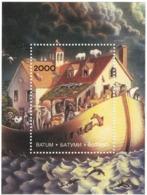 Georgean Batumi - Adjara _ NOAH'S ARK - Religion _ Minisheet - MNH ** - Georgia