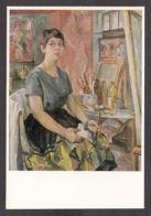 PJ116/ Anni JUNG, *Selbstbildnis Im Atelier* - Paintings