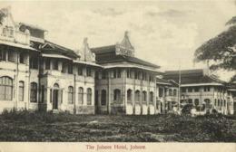 Straits Settlements, Malay Malaysia, JOHOR JOHORE, Johore Hotel (1910s) Postcard - Malaysia