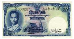 BILLET BANQUE Thaïlande Siam Roi Rama IX 1 Baht  1955 Type 3 --sept  2019  Alb Bil - Thailand