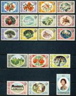"1975 Dominica MNH OG Complete Set Of 18 Stamps ""Flora & Fauna"" Teriffic Set Yt.447/464 Cat. 45 Euro - Dominique (...-1978)"