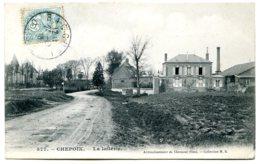 60120 CHEPOIX - La Laiterie Et L'église (MB N° 577) Jolie Carte Postée En 1905 - Other Municipalities