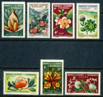 """1964/65 New Caledonia MLH OG Complete Set Of 7 Stamps """"Flowers, Fruits"""" Yt.A 314-21 Cat 43 Euro - Neufs"""