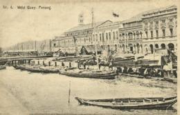 Malay Malaysia, PENANG, Weld Quay (1910s) Postcard - Malaysia