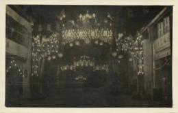 Malay Malaysia, PENANG, Changay Procession, Decorated Street Scene (1927) RPPC - Malaysia
