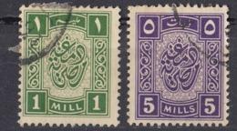 EGITTO - Lotto Di 2 MARCHE DA BOLLO Con Annullo Postale. - Egitto