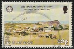 Isle Of Man SG314 1986 Centenary Of Manx Museum 29p Good/fine Used [40/32711/25D] - Isola Di Man