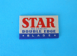 STAR - USA ( Brooklyn - New York ) Old Pre-WW2 Razor Blade UNUSUED Lame De Rasoir Rasierklinge Lama Del Rasoio - Lames De Rasoir