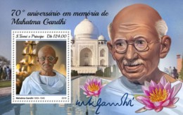 Sao Tome 2018   Mahatma Gandhi  S201811 - Sao Tome And Principe
