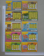 PORTUGAL    - LOTARIA INSTANTANEA -  10 -  UNIDADES  - (Nº11174) - Billets De Loterie