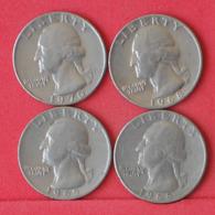 USA    - LOT OF COINS -  4  UNIDADES  - (Nº11177) - Stati Uniti