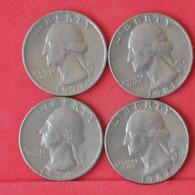 USA    - LOT OF COINS -  4  UNIDADES  - (Nº11178) - Stati Uniti