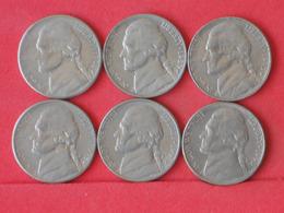 USA    - LOT OF COINS -  6  UNIDADES  - (Nº11186) - Stati Uniti