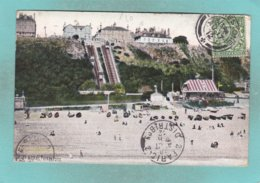 Small Old Post Card Of Lift And Leas,Folkestone,Kent,England.,S72. - Folkestone