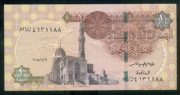 EGYPT / ONE POUND / DATE : 30-7-2018 / P- 70 / PREFIX : L596 / SULTAN QUAYET BEY MOSQUE / ABU SIMBEL TEMPLE / USED - Egypte