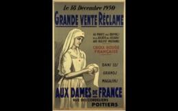 @@@ MAGNET - Grande Vente Réclame, Le 18 Décembre 1930 Au Profit Des Oeuvres De La Société De Secours Aux Blessés Milita - Publicitaires