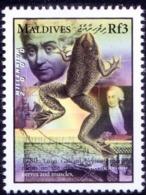 1780 Galvani, Effect Of Electricity On Nerves & Muscles, Medicine, Maldives MNH, Millennium    ( - Electricity