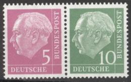 BRD Zusammendruck W19X ** Postfrisch - [7] République Fédérale