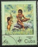 Cuba - Kuba 1985 Y&T N°2614 - Michel N°2931 (o) - 30c Chasseur - Usados