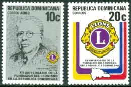 DOMINICAN REPUBLIC 1979 LIONS CLUB INTERNATIONAL** (MNH) - Dominicaine (République)