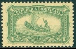 DOMINICAN REPUBLIC 1900 DISCOVERY OF AMERICA, 1c GREEN DIEGO MENDEZ** (MNH) - Repubblica Domenicana