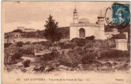 51ei 617 CPA - CAP D'ANTIBES - VUE PRISE DE LA POINTE DU CAP - Cap D'Antibes - La Garoupe