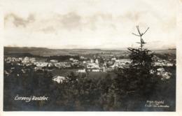Tchéquie. CPSM.  CERVENY KOSTELEC.  1928.  Scan Du Verso. - Tschechische Republik