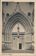 CP 31 - Grenade Sur Garonne L'Entrée De L'Eglise  Timbre & Oblitération Au Dos 1937 - France