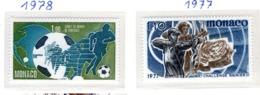 SPORT - OLYMPIC GAMES - 1977/78 -  MONACO - Mi. Nr.  1267+1315 - NH - (6532-43) - Mónaco