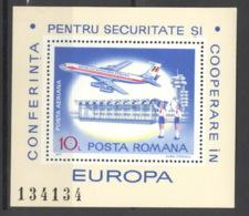 Rumänien Block 143 ** Postfrisch KSZE - Blocs-feuillets