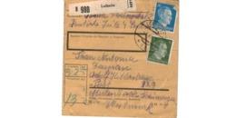 Allemagne  - Colis Postal  Départ Leibnitz  -     3-XII-42 - Allemagne