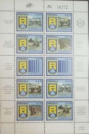 O) 1986 VENEZUELA, CITY POLICE - EMERGENCY MEDICAL - HELICOPTER -SECURITY EVENT - BAR CODE - CADETS ACADEMY . MOTORCYCL - Venezuela
