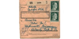 Allemagne  - Colis Postal  Départ Iphofen - Allemagne